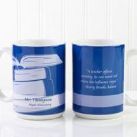 Teaching Professions 15 oz. Coffee Mug in White
