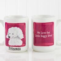 Top Dog Breeds 15 oz. Coffee Mug in White