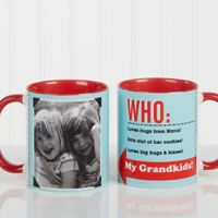 Who Loves You? 11 oz. Coffee Mug in Red
