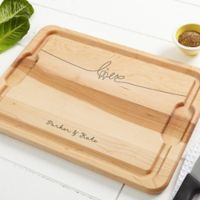 Lovebirds 12-Inch x 17-Inch Maple Cutting Board