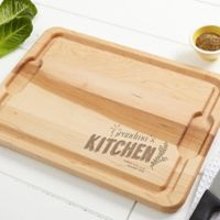 Her Kitchen 12-Inch x 17-Inch Maple Cutting Board