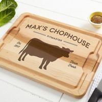 Farmhouse Kitchen 12-Inch x 17-Inch Maple Cutting Board