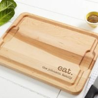 Kitchen Expressions 12-Inch x 17-Inch Maple Cutting Board
