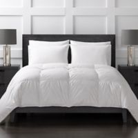 Sharper Image® 370-Thread-Count Lightweight Down Alternative Twin Comforter in White