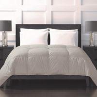 Sharper Image® 370-Thread-Count Lightweight Down Alternative Full/Queen Comforter in Khaki