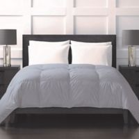 Sharper Image® 370-Thread-Count Lightweight Down Alternative Twin Comforter in Grey