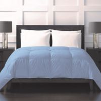 Sharper Image® 370-Thread-Count Lightweight Down Alternative Full/Queen Comforter in Blue