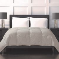 Sharper Image® 370-Thread-Count Year-Round Down Alternative Twin Comforter in Khaki