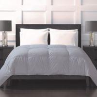 Sharper Image® 370-Thread-Count Year-Round Down Alternative Twin Comforter in Grey