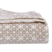 Berkshire Blanket® VelvetLoft® Mosaic Twin Blanket in Grey