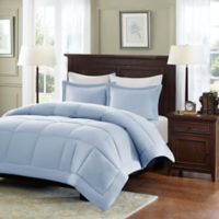 Madison Park Microcell Down Alternative King/California King Comforter Set in Blue
