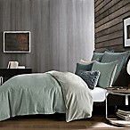 Kenneth Cole New York Dovetail Full/Queen Duvet Cover in Green