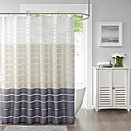 Demi Standard Shower Curtain in Neutral