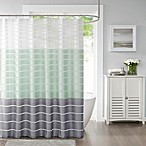 Demi Standard Shower Curtain in Green