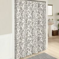 Marble Hill Tanner Shower Curtain in Grey