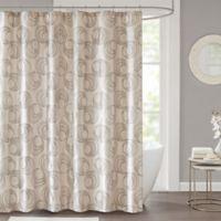 Cosma Shower Curtain In Grey