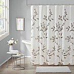 Madison Park Cecily Shower Curtain in Grey