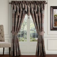 Croscill® Galleria 84-Inch Poletop Window Curtain Panel Pair in Chocolate