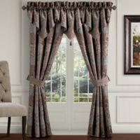 CroscillR Galleria 84 Inch Poletop Window Curtain Panel Pair In Chocolate