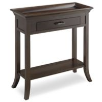 Leick Home Tray Edge Hall Stand in Chocolate Cherry