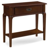 Leick Home Stratus Condo/Apartment Hall Stand with Chocolate Cherry Finish