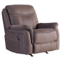 Standard Furniture Mfg. Champion Manual Motion Recliner/Rocker in Taupe