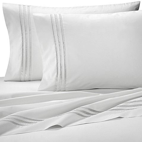 Belleza Gail Standard Pillowcase in White