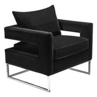 Olivya Club Chair in Black