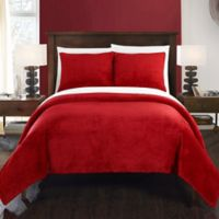 Chic Home Budapest Twin Blanket Set in Red
