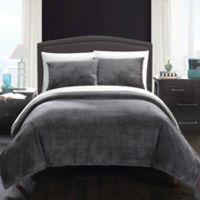Chic Home Budapest Twin Blanket Set in Grey