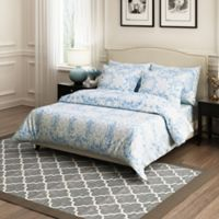 Brielle Ibiza Full/Queen Duvet Cover Set in Blue