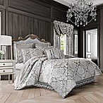 J. Queen New York™ Bel Air Queen Comforter Set in Silver