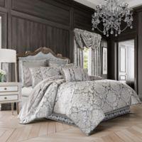 J. Queen New York™ Bel Air Full Comforter Set in Silver