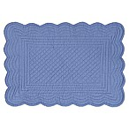 Periwinkle Reversible Quilted Cotton Placemats in Purple (Set of 6)