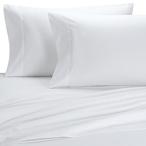 Palais Royale™ 630-Thread-Count Egyptian Cotton Full XL Sheet Set in White