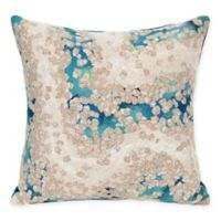 Liora Manne Elements Indoor/Outdoor Square Throw Pillow in Blue