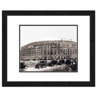Photo File Yankee Stadium 22-Inch x 26-Inch Framed Wall Art