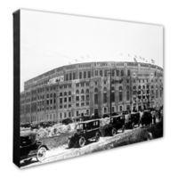 Photo File Yankee Stadium 20-Inch x 24-Inch Canvas Wall Art