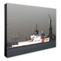 Photo File U.S. Coast Guard Cutter 20-Inch x 16-Inch Canvas Wall Art