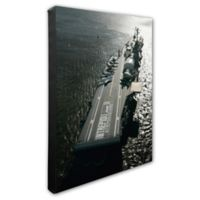 Photo File USS Intrepid 20-Inch x 24-Inch Photo Canvas Wall Art