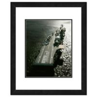 Photo File USS Intrepid 22-Inch x 26-Inch Framed Photo Wall Art