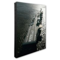 Photo File USS Intrepid 16-Inch x 20-Inch Photo Canvas Wall Art
