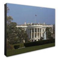 Photo File White House Photo 20-Inch x 24-Inch Canvas Wall Art