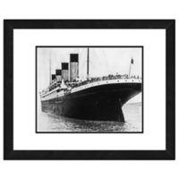 Titanic 18-Inch x 22-Inch Framed Wall Art