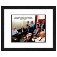 The Situation Room 22-Inch x 26-Inch Framed Wall Art
