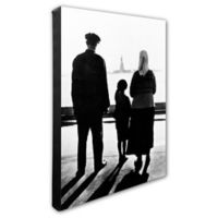 Statue of Liberty Family 16-Inch x 20-Inch Photo Canvas Wall Art