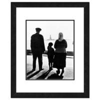 Statue of Liberty Family 22-Inch x 26-Inch Framed Wall Art
