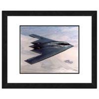 B-2 Spirit Stealth Bomber 22-Inch x 26-Inch Framed Wall Art
