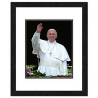 Pope Francis 22-Inch x 26-Inch Framed Wall Art