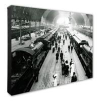 Paddington Station, London England 16-Inch x 20-Inch Canvas Wall Art